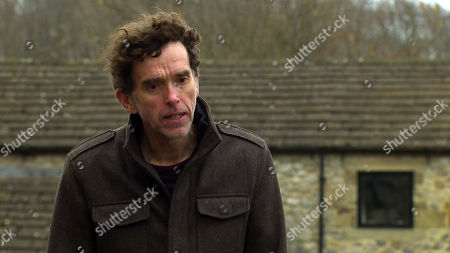 Emmerdale - Ep 8953 Wednesday 27th January 2021 Marlon Dingle, as played by Mark Charnock, worried about Ellis, urges Al Grant to fight for his son.