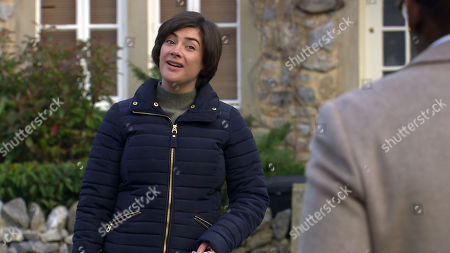 Emmerdale - Ep 8952 Tuesday 26th January 2021 Troubled Luke Posner once again tells Ethan that he isn't gay and overcompenstes with his affections for Victoria Sugden, as played by Isabel Hodgins, for Ethan's benefit.