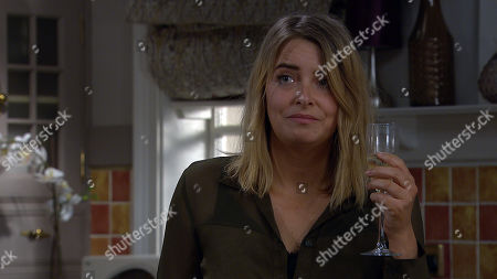Emmerdale - Ep 8966 Thursday 11th February 2021 - 1st Ep Al Grant joins Charity Dingle, as played by Emma Atkins, as she's getting drunk and he soon manipulates vulnerable Charity to admit the details of Debbie's revenge on him. Full of self loathing, she suggests they go upstairs, callous Al decides to go along with it, determined to make Debbie pay? Will Charity be left at rock-bottom?