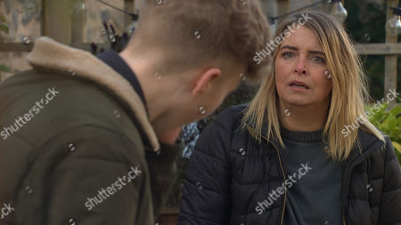 Emmerdale - Ep 8965 Wednesday 10th February 2021 When Noah Tate, as played by Jack Downham, realises Charity Dingle's, as played by Emma Atkins, interference, he lays into her for her selfishness, commenting that his life would have been better if she'd sold him forever. Goaded Charity slaps him...Has she gone too far?