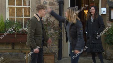 Editorial image of 'Emmerdale' TV Show UK - 2021