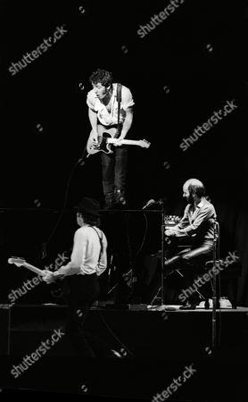 Bruce Springsteen, Steve Van Zandt and Roy Bittan