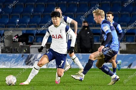 Editorial image of Wycombe Wanderers v Tottenham Hotspur, FA Cup - 25 Jan 2021