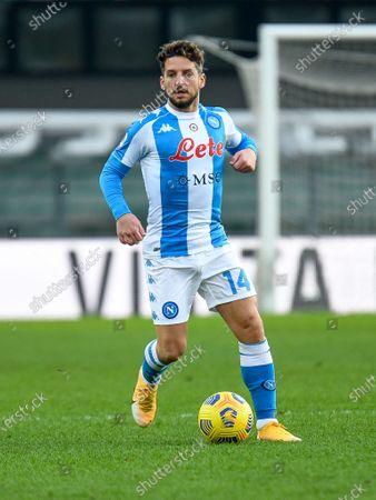 Editorial image of Hellas Verona v SSC Napoli, Italian football Serie A match, Itlay - 24 Jan 2021