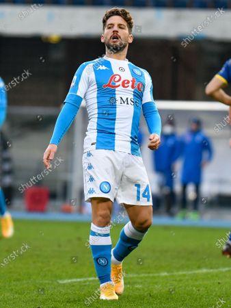 Editorial photo of Hellas Verona v SSC Napoli, Italian football Serie A match, Itlay - 24 Jan 2021