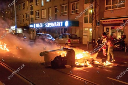 Anti-lockdown protests, The Netherlands