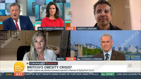 Editorial photo of 'Good Morning Britain' TV Show, London, UK - 26 Jan 2021