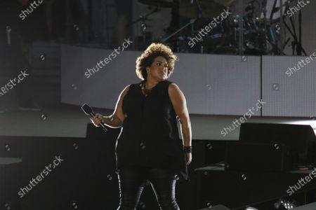 Editorial image of Australia Day concert, Sydney Opera House forecourt, Sydney, Australia - 26 Jan 2021