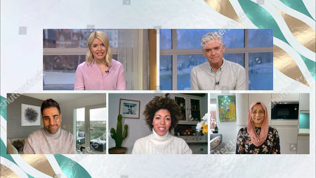 Holly Willoughby, Phillip Schofield, Dr Ranj, Dr Zoe Williams and Dr Nighat Arif