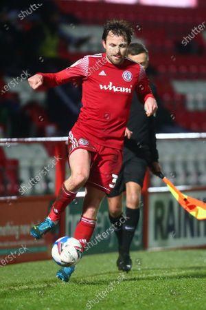Accrington's Mark Hughes
