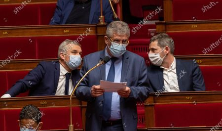 Editorial image of Weekly session of questions to the government, Paris, France - 26 Jan 2021