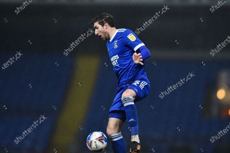 Ipswich Town defender Stephen Ward (3) controls the ball during the EFL Sky Bet League 1 match between Ipswich Town and Sunderland at Portman Road, Ipswich