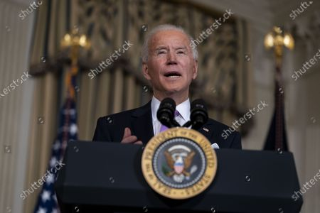 President Biden signs executive actions on advancing racial equality, Washington DC