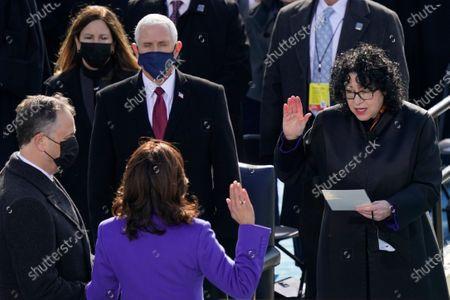 Editorial image of Biden Inauguration, Washington, United States - 20 Jan 2021