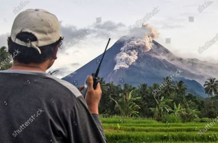 Merapi Volcano eruption, Yogyakarta