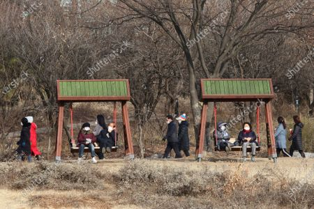 Editorial picture of Virus Outbreak Daily Life, Goyang, South Korea - 27 Jan 2021