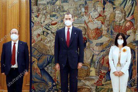 King Felipe swears in new ministers, Madrid