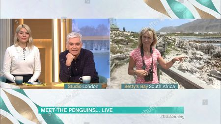 Holly Willoughby, Phillip Schofield and Michaela Strachan