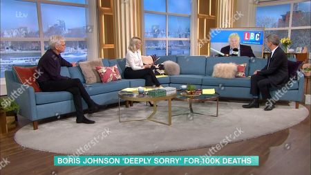 Phillip Schofield, Holly Willoughby, Nick Ferrari and Matthew Wright