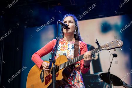 Editorial image of Missy Higgins in concert, Sidney Myer Music Bowl, Melbourne, Australia - 27 Jan 2021