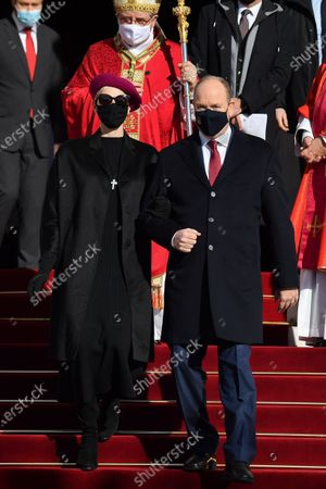 Royals attend the Sainte Devote celebration, Monaco