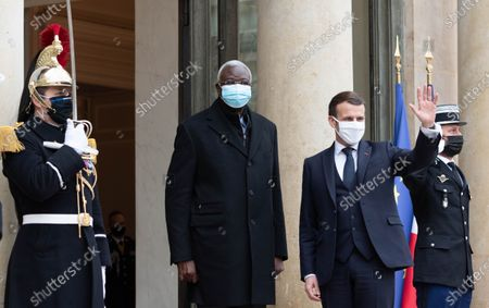 Transitional Malian President Bah Ndaw visit to Paris