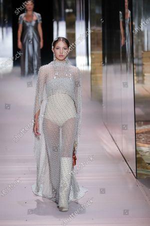 Editorial picture of Fashion Week Fendi 2021, Paris, France - 27 Jan 2021