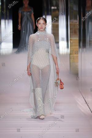 Editorial image of Fashion Week Fendi 2021, Paris, France - 27 Jan 2021