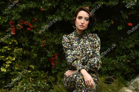"""Zoe Lister-Jones, a cast member, co-writer, co-director and co-producer of """"How It Ends"""" with her husband Daryl Wein, poses for a portrait to promote the film for the Sundance Film Festival, in Los Angeles"""