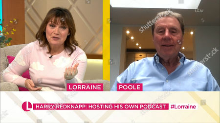 Lorraine Kelly and Harry Redknapp