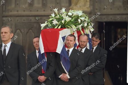 The Funeral Of Enoch Powell At Saint Margaret's Church Westminster.