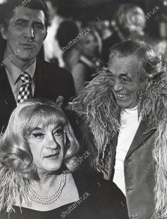 John Huston, Patrick O'Neal, George Sanders