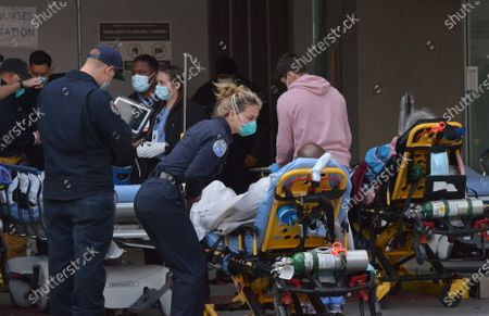 """Editorial picture of """"Seperate and Unequal': MLK Hospital Faces Crisis on Top of Crisis, Los Angeles, California, USA - 27 Jan 2021"""