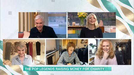 Phillip Schofield, Holly Willoughby, Beverley Craven, Kiki Dee and Carol Decker