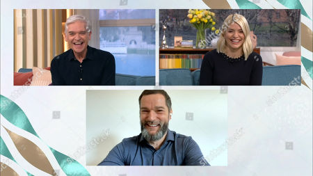 Phillip Schofield, Holly Willoughby and Fred Sirieix