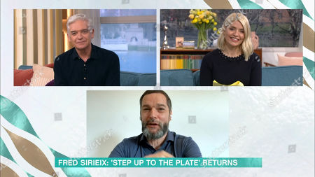 Stock Photo of Phillip Schofield, Holly Willoughby and Fred Sirieix