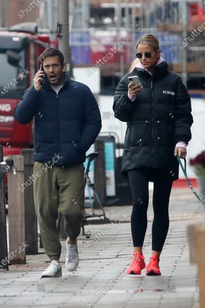 Exclusive - Vogue Williams and Spencer Matthews