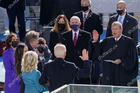 Editorial picture of Biden Inauguration, Washington, United States - 20 Jan 2021