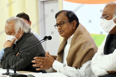 Editorial image of Congress party press conference in New Delhi, India - 28 Jan 2021