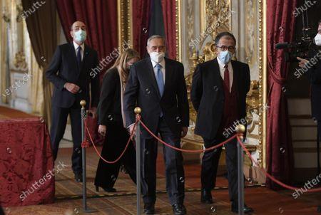 Sen. Loredana De Petris, Sen. Pietro Grasso, Sen. Sandro Ruotolo