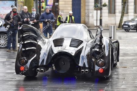 Editorial picture of Co-hosts surprise Roman Kemp with a Batmobile outside the Capital Radio studios in London, UK - 28 Jan 2021