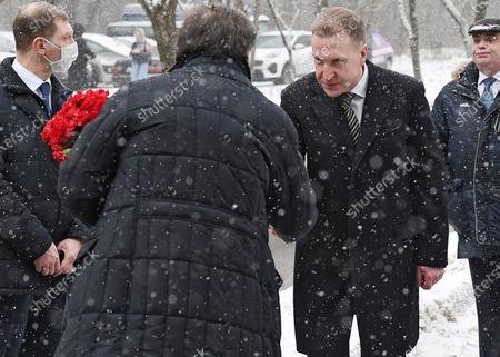 Editorial photo of Sergei Prikhodko farewell ceremony, Moscow, Russia - 28 Jan 2021