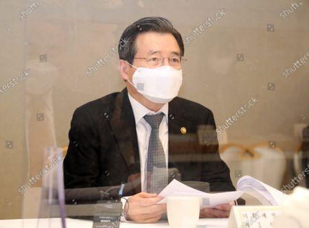 Editorial photo of Meeting on innovative growth, Seoul, Korea - 29 Jan 2021
