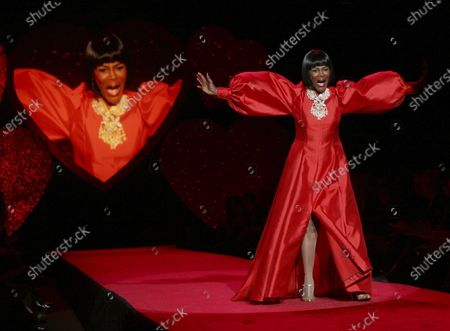 """Cicely Tyson models a B. Michael design in The Heart Truth Red Dress collection during Fashion Week in New York, . Tyson, the pioneering Black actress who gained an Oscar nomination for her role as the sharecropper's wife in """"Sounder,"""" a Tony Award in 2013 at age 88 and touched TV viewers' hearts in """"The Autobiography of Miss Jane Pittman,"""" has died. She was 96. Tyson's death was announced by her family, via her manager Larry Thompson, who did not immediately provide additional details"""