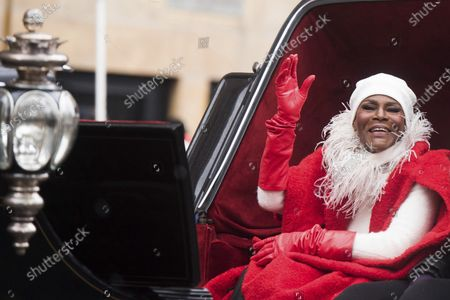"""Cicely Tyson rides a float in the Macy's Thanksgiving Day Parade on in New York. Tyson, the pioneering Black actress who gained an Oscar nomination for her role as the sharecropper's wife in """"Sounder,"""" a Tony Award in 2013 at age 88 and touched TV viewers' hearts in """"The Autobiography of Miss Jane Pittman,"""" has died. She was 96. Tyson's death was announced by her family, via her manager Larry Thompson, who did not immediately provide additional details"""