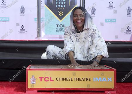 Editorial image of Obit Cicely Tyson, Los Angeles, United States - 27 Apr 2018