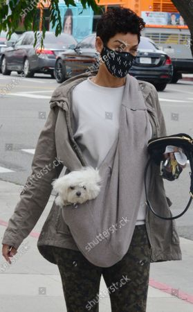 Editorial image of Exclusive - Nicole Murphy out and about, Los Angeles, California, USA - 28 Jan 2021