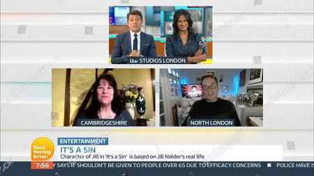 Editorial image of 'Good Morning Britain' TV Show, London, UK - 29 Jan 2021