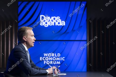Editorial photo of Davos Agenda 2021 in Cologny, Switzerland - 29 Jan 2021