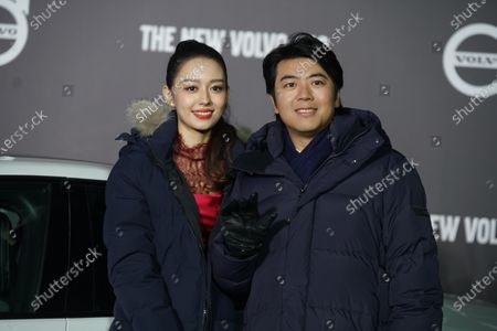 Editorial photo of Famous pianist, Lang Lang had a baby with his wife Gina, China - 28 Jan 2021